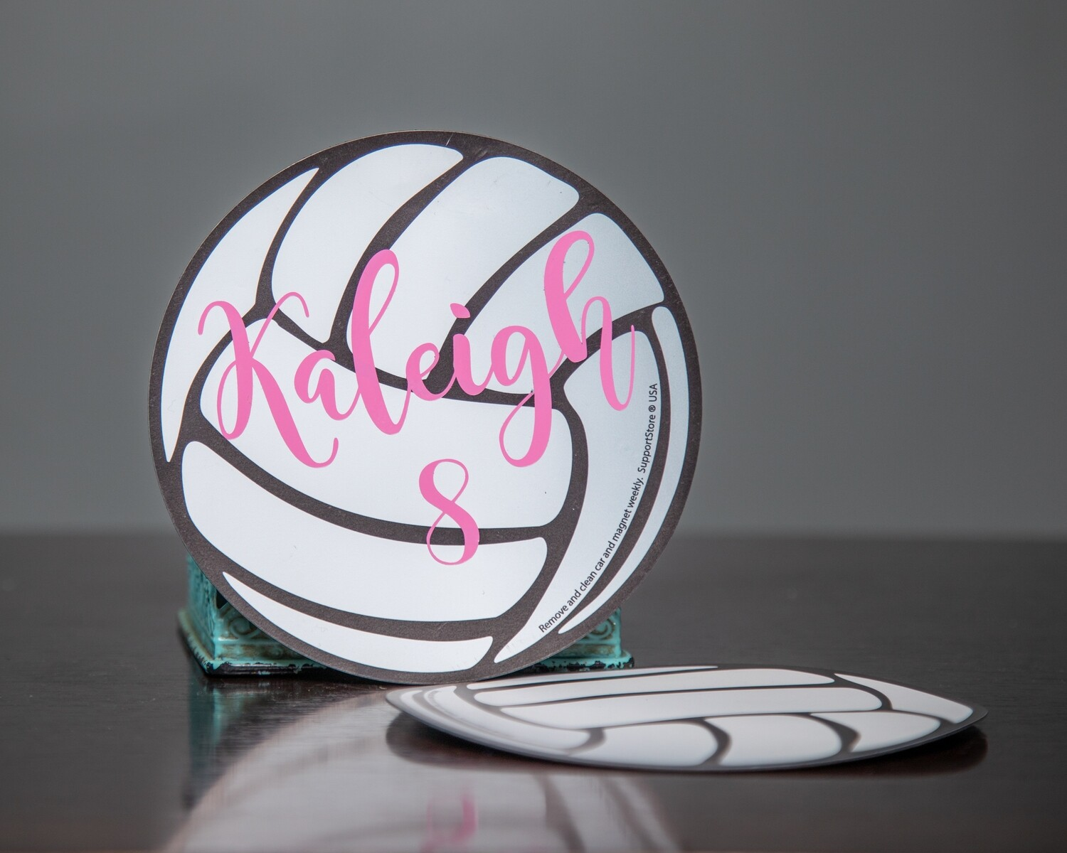 "6"" Volleyball Magnet"