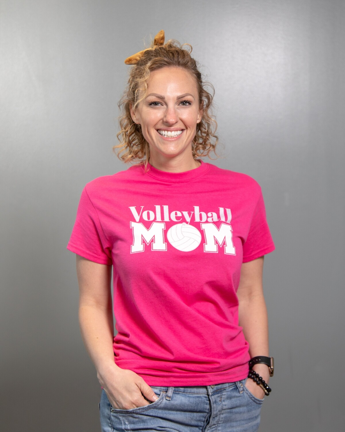 Volleyball Mom Crew Tee