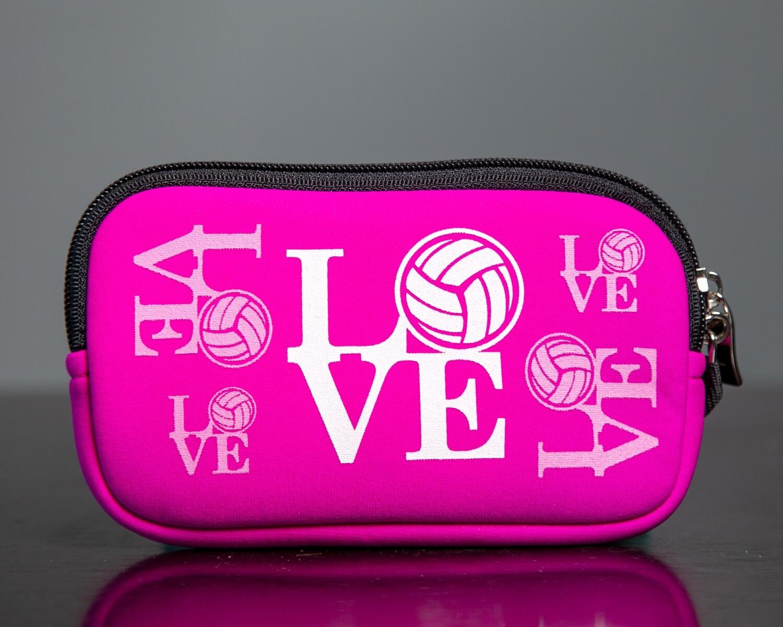 Pink LOVE Clutch