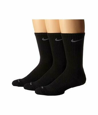 3pk Nike Dri-Fit Cotton Socks