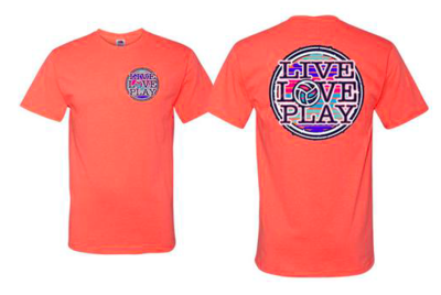 Live Love Play S/S  Coral