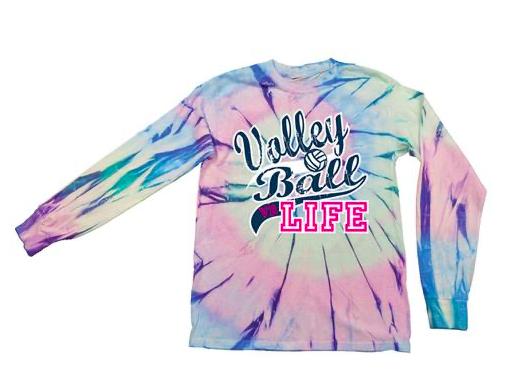 VB Life  Tie Dye L/S