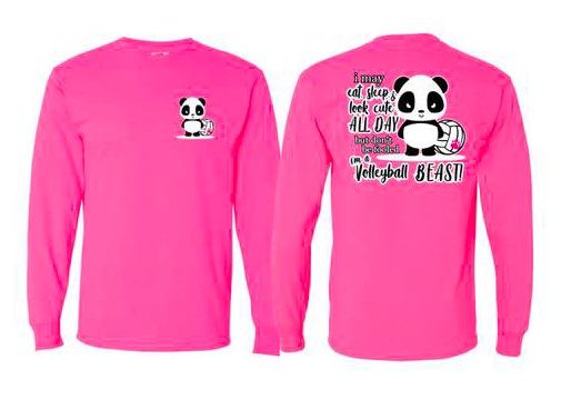 Pink Panda L/S