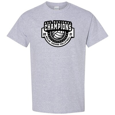 Boiler Jr. Nat'l Champ 13s Gray S/S