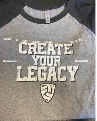 Create Your Legacy Raglan Tee