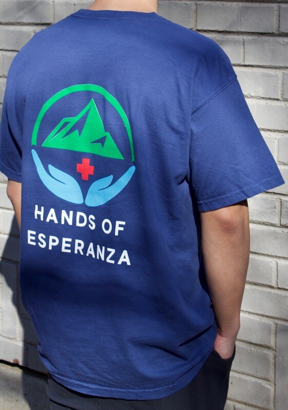 Blue Short Sleeve T-Shirt w/ Logo