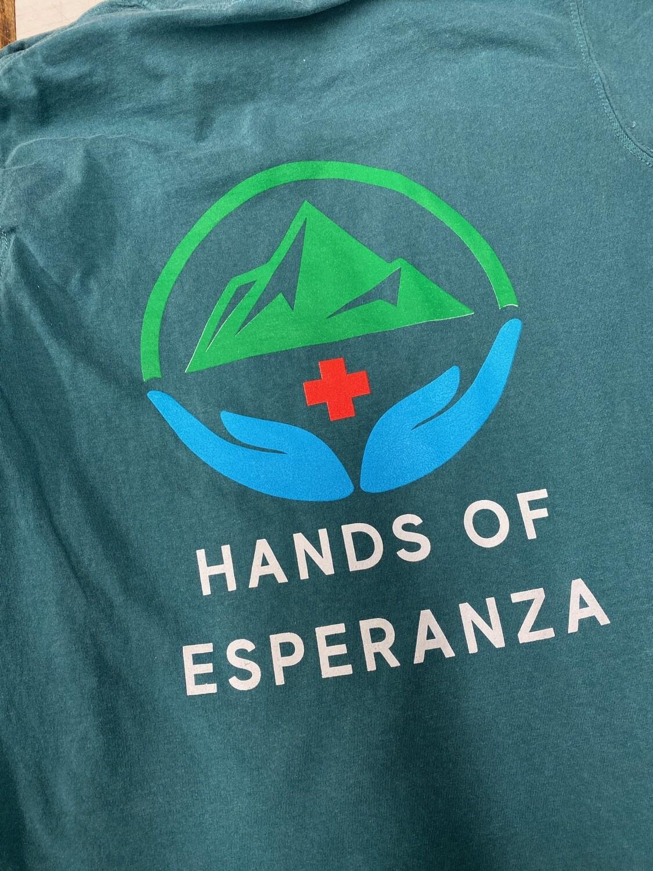 Aqua Short Sleeve T-Shirt w/ Logo