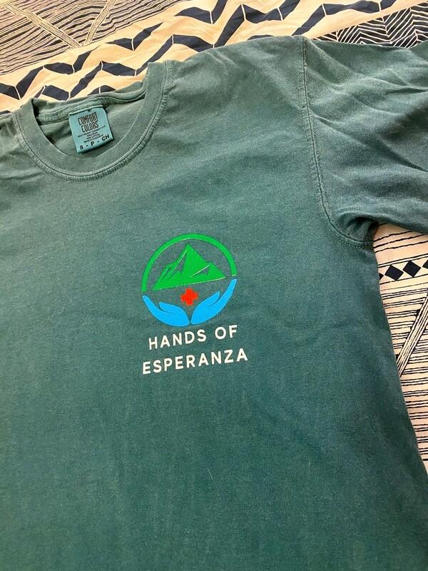 Aqua Short Sleeve T-Shirt w/ Quote
