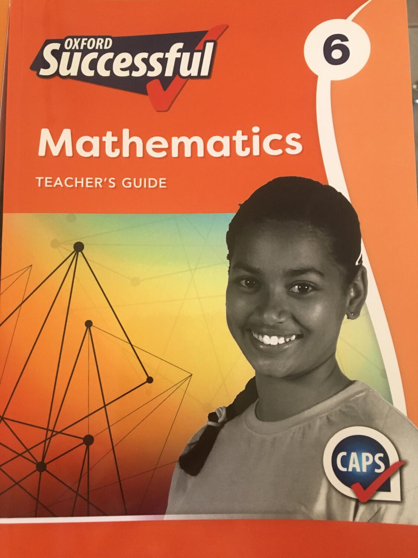 Grade 6 Oxford successful Mathematics Teacher Guide