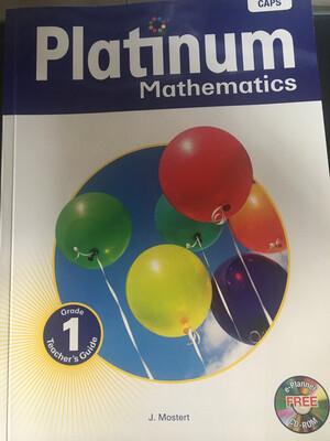 Grade 1 Platinum Mathematics Teacher Guide