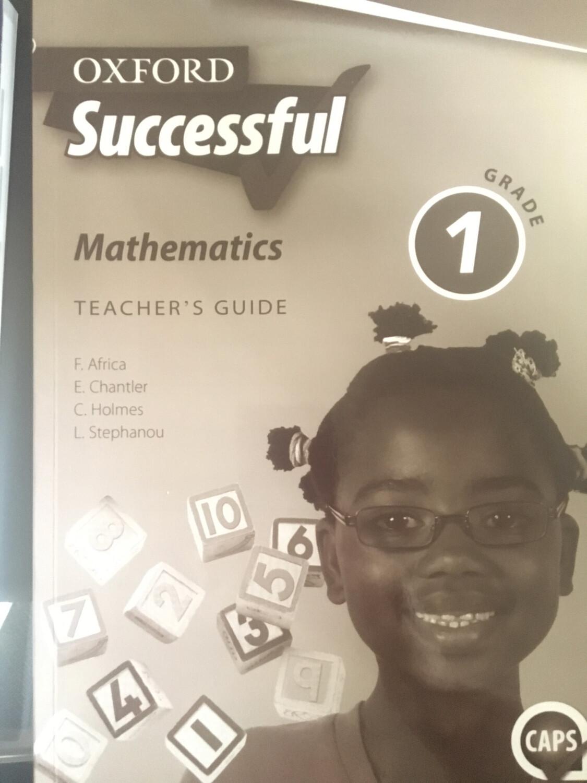 Grade 1 Oxford Successful Mathematics Teachers Guide