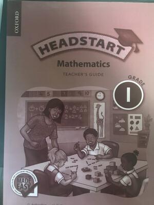 Grade 1 Oxford Headstart Mathematics Teacher Guide