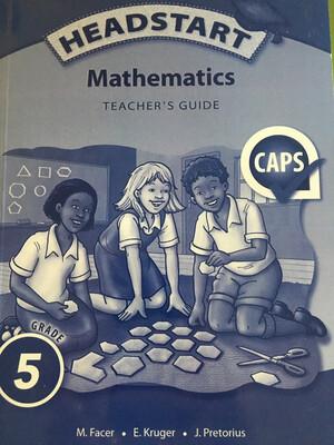 Grade 5 Oxford Headstart Mathematics Teacher's Guide