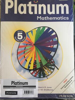 Grade 5 Platinum Mathematics Teacher Guide Pack
