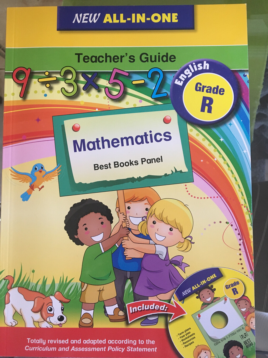 Grade R New All-in-one Mathematics Teacher's Guide