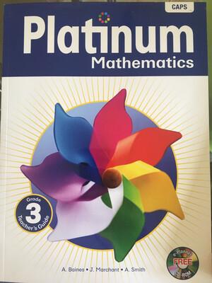 Grade 3 Platinum Mathematics Teacher's Guide