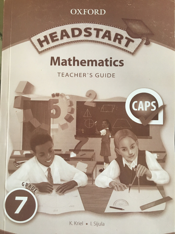 Grade 7 Oxford Headstart Mathematics Teachers Guide