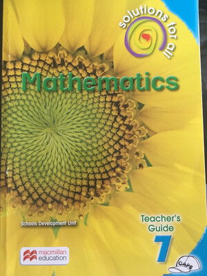 Grade 7 Solutions For All Mathematics Teacher's Guide