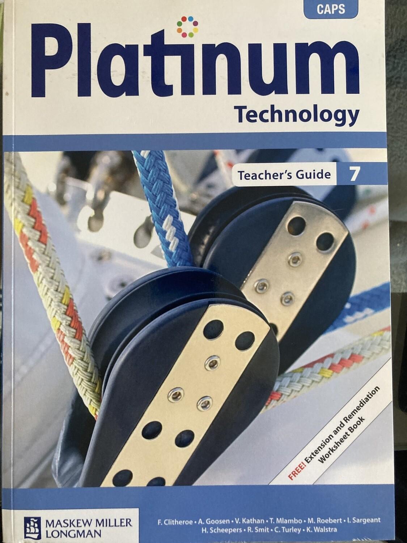 Grade 7 Platinum Technology Grade 7 Teacher's Guide