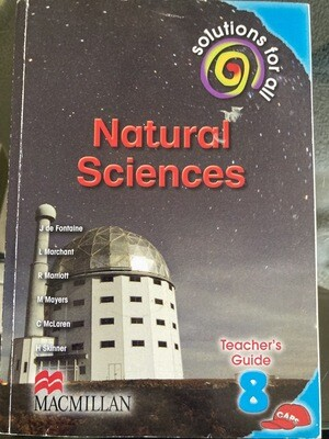 Grade 8 Solutions For All Natural Sciences Teacher Guide