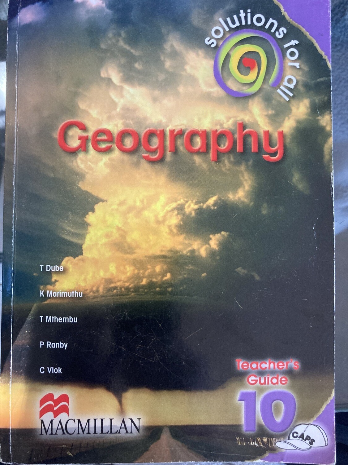 Grade 10 Solutions For All Geography Teachers Guide