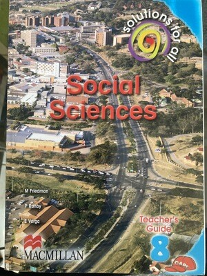 Grade 8 Solutions For All Social Sciences Teacher's Guide
