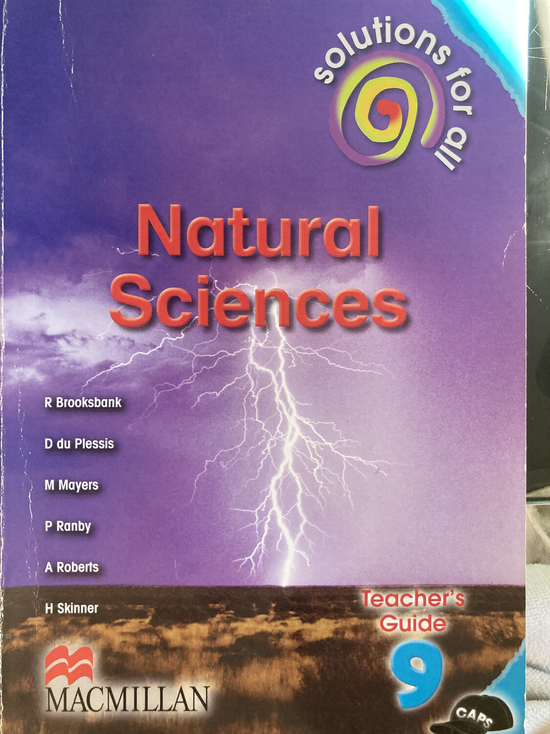 Grade 9 Solutions For All Natural Sciences Teachers Guide