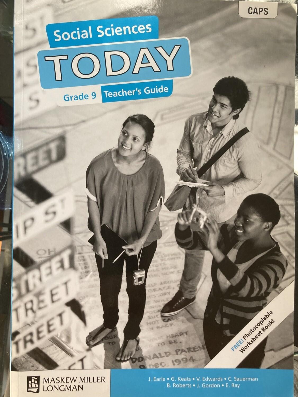 Grade 9 Today Social Sciences Teachers Guide