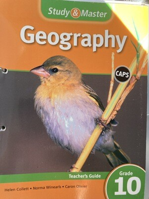 Grade 10 Study And Master Geography Teachers File