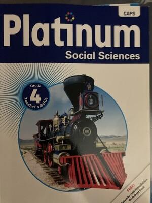 Grade 4 Platinum Social Sciences Teachers Guide