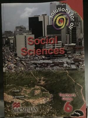 Grade 6 Solutions For All Social Sciences Teacher Guide