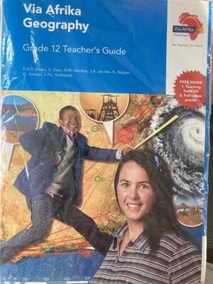 Grade 12 Via Afrika Geography Teachers Guide