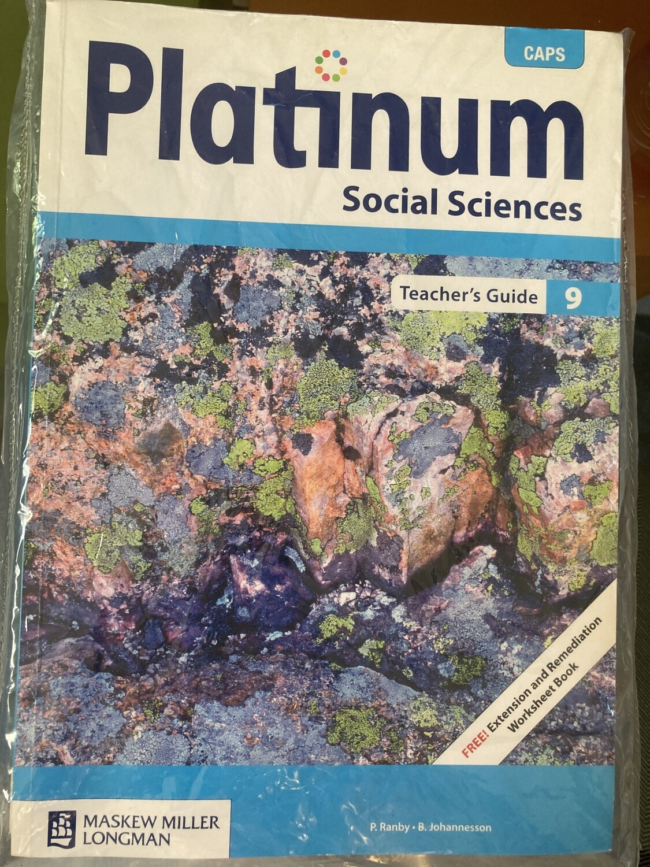 Grade 9 Platinum Grade 9 Social Sciences Teachers Guide
