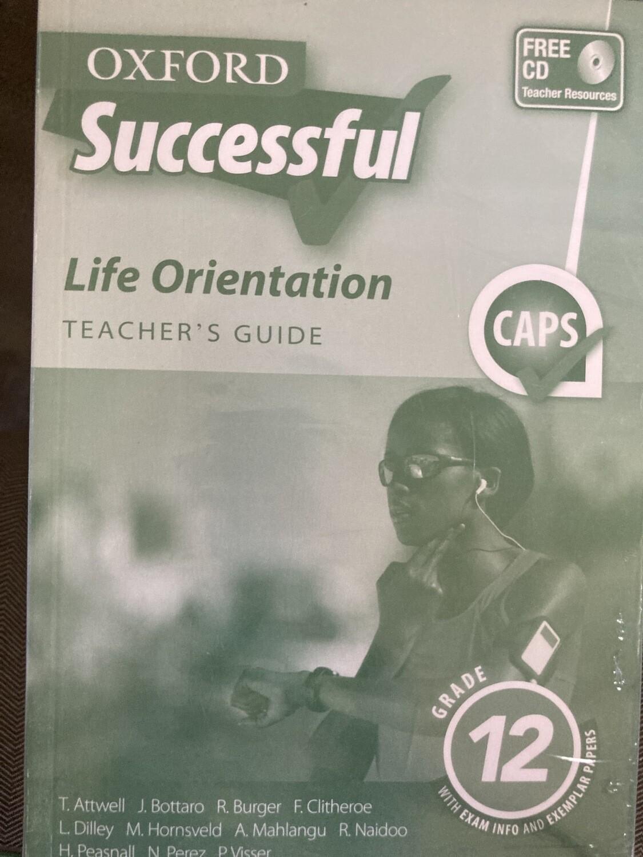 Grade 12 Oxford Successful Life Orientation Teachers Guide