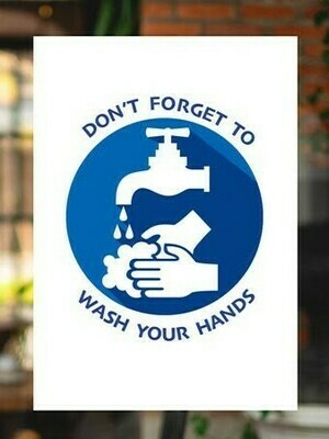 Hand Washing Clings