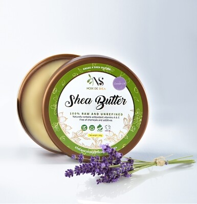 Raw Shea Butter with Organic Lavender Oil