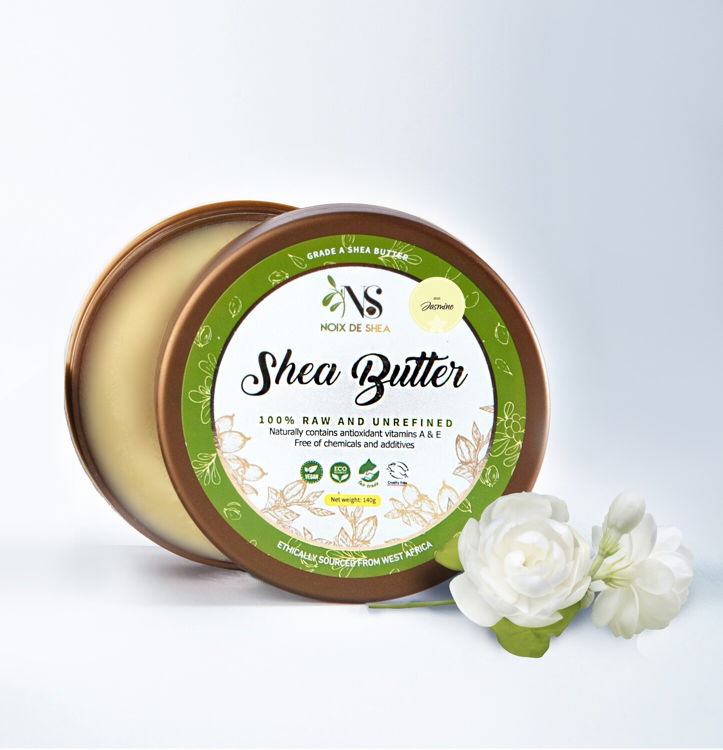 Raw Shea Butter with Jasmine Fragrance