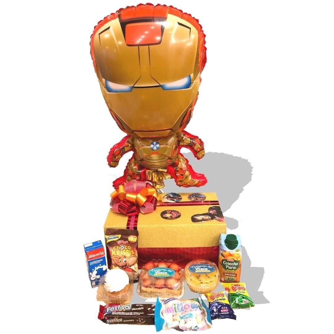 Iron Man Infantil    Desayunos Para Niños👧🏻👦🏻