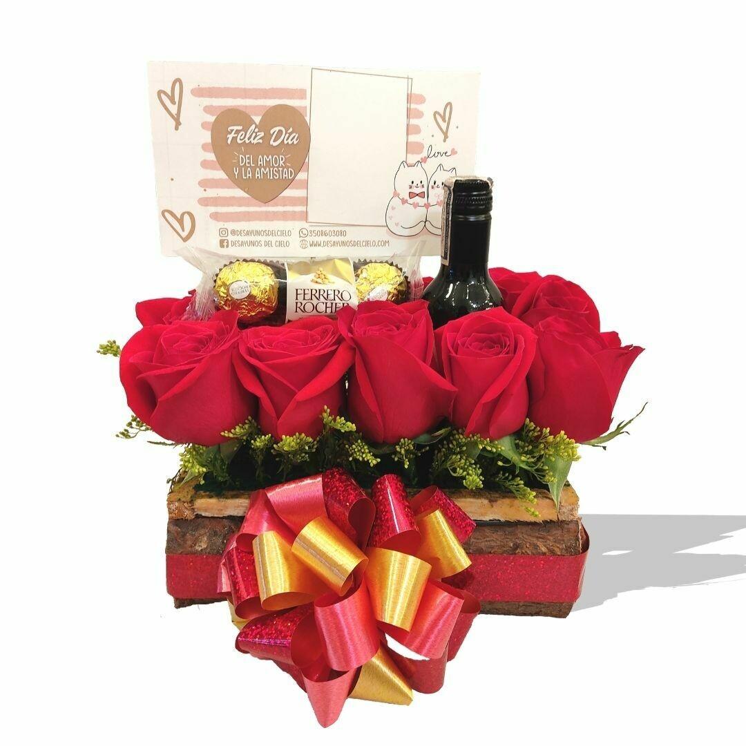 Rosas Rusticas   Amor y Amistad