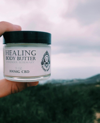Lavender Rosemary CBD Body Butter