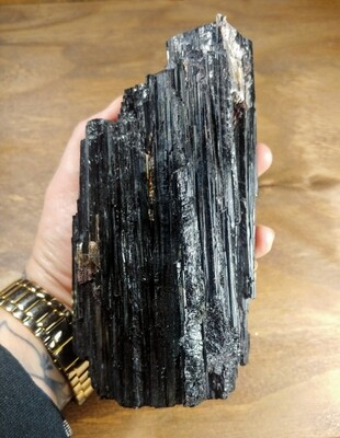 ​Black Tourmaline in Matrix - 3.29lbs