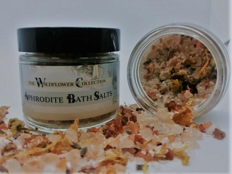 Aphrodite CBD Bath Salts - Wildflower Collection