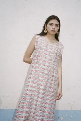 Upcycled Poncho Dress