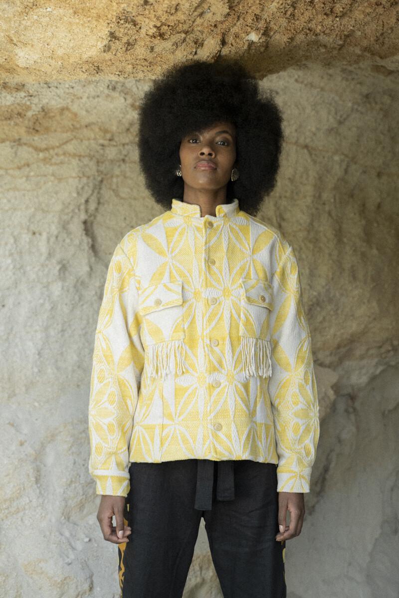 Jacket in Daffodil