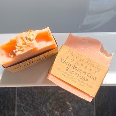 Wild Rose Castille Soap