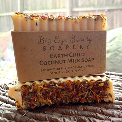 Earth Child Coconut Milk Castille Soap