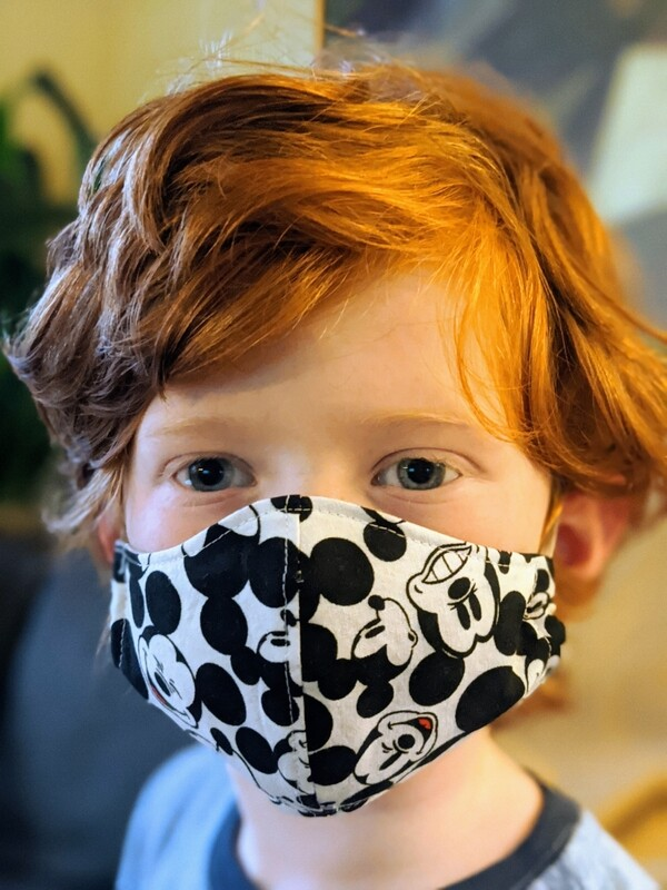 KIDS Washable Reusable Cotton Face Mask