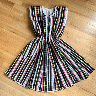 Handmade Retro Dress With Pockets