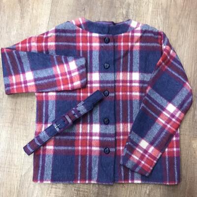 1950s Mohair/Wool Jacket w/ Belt