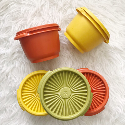 1970's Tupperware®️ | Set Of 5